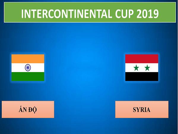 Nhận định Ấn Độ vs Syria, 21h30 ngày 16/7