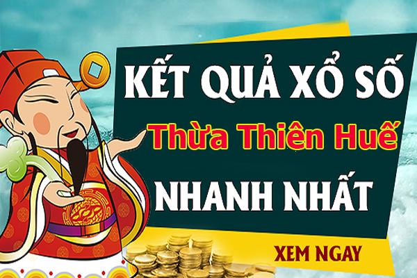 Soi cầu XS Thừa Thiên Huế chính xác thứ 2 ngày 16/09/2019