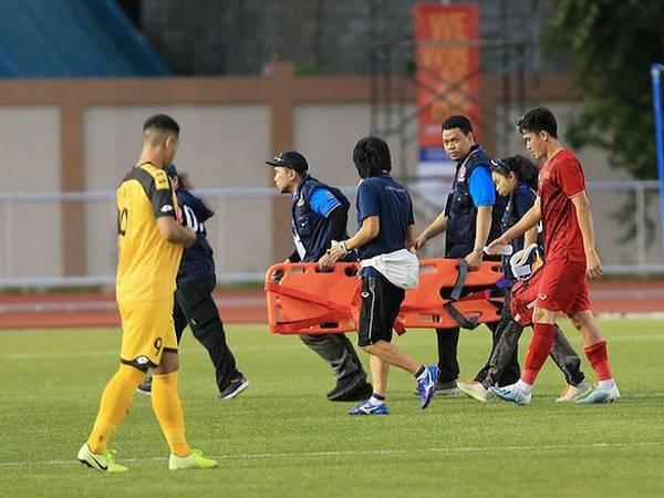 U22 Việt Nam mất tụ cột hàng thủ ở trận gặp U22 Indonesia