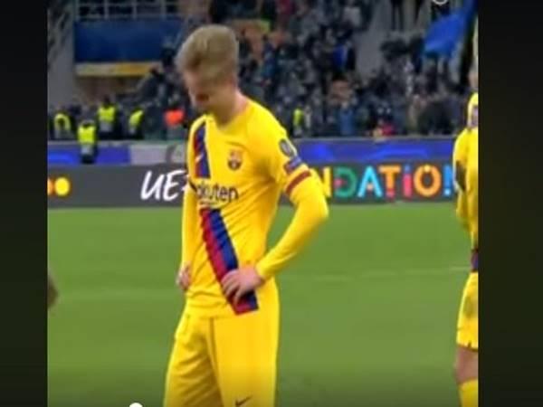 Lý do khiến De Jong buồn trong ngày Barca đả bại Inter