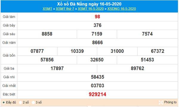 Soi cầu KQXS Đà Nẵng 20/5/2020 cùng các chuyên gia
