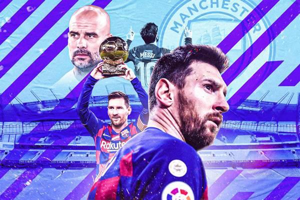 Barcelona đồng ý bán Messi cho Man City với mức giá không tưởng