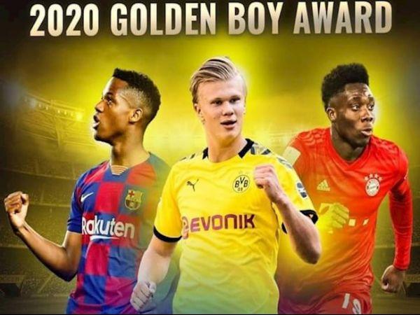 Tin bóng đá trưa 16/10: Rút gọn đề cử giải Golden Boy 2020