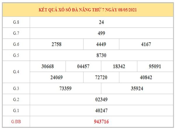 Dự đoán XSDNG ngày 12/5/2021 dựa trên kết quả kì trước